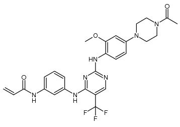 Rociletinib (CO-1686, CO1686, CO 1686)